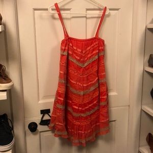 Unique and vintage dress from Anthropologie